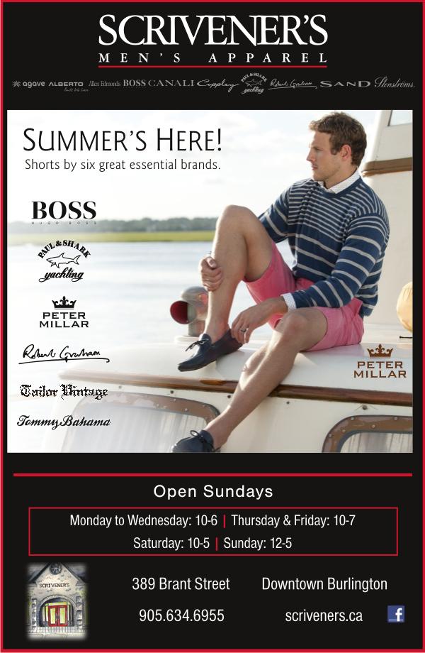 Summer Shorts at Scriveners
