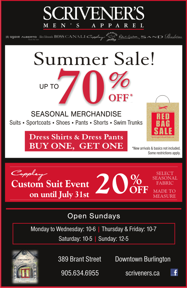 Summer Sale on at Scriveners