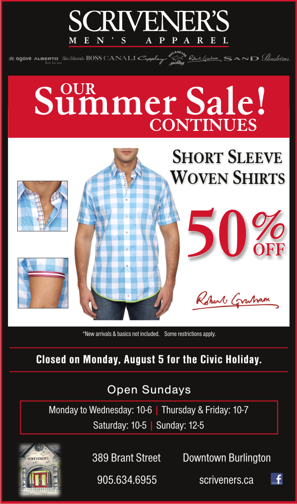 Short Sleeve Shirts on Sale at Scrivener's