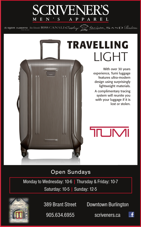 Tumi Luggage at Scrivener's