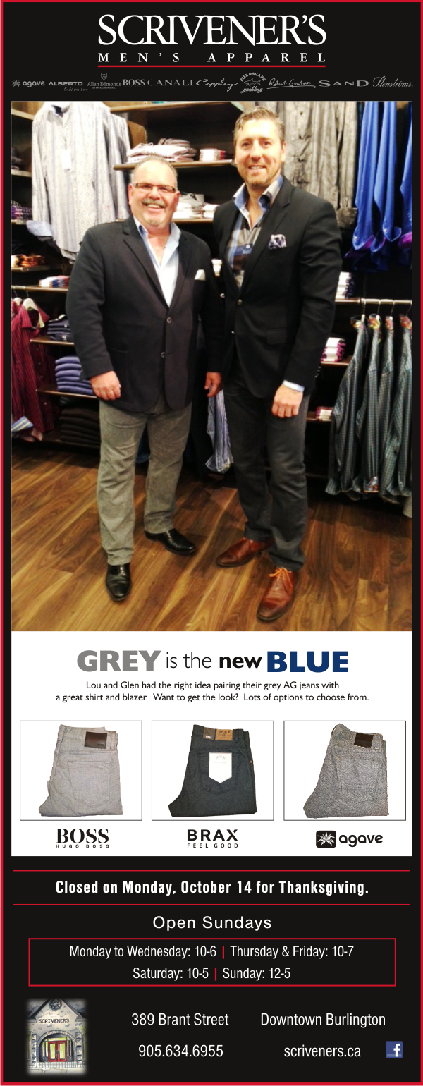 Grey is the New Blue at Scrivener's