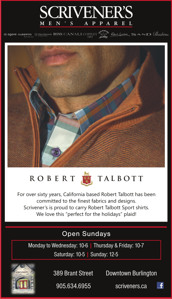 Robert Talbott at Scrivener's