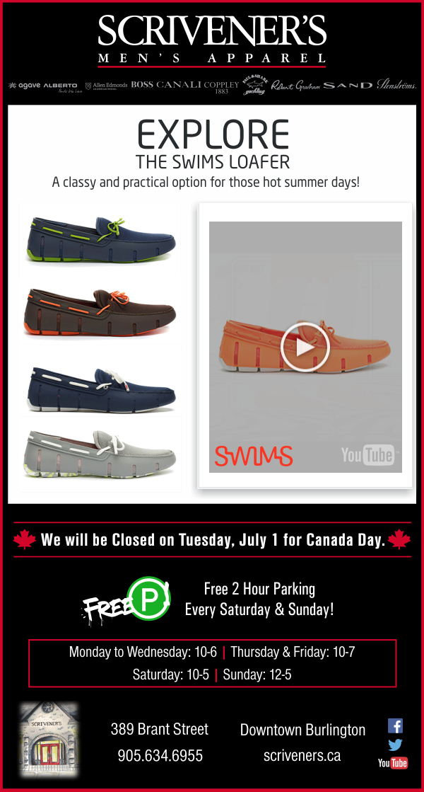 Swims Loafers at Scrivener's