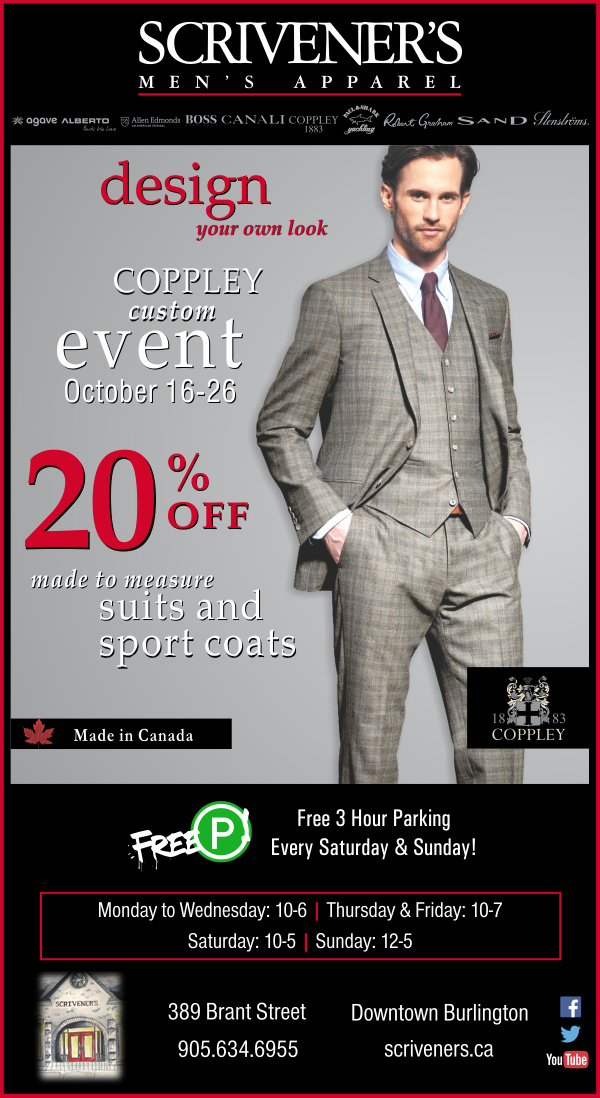 Coppley Custom Event at Scrivener's