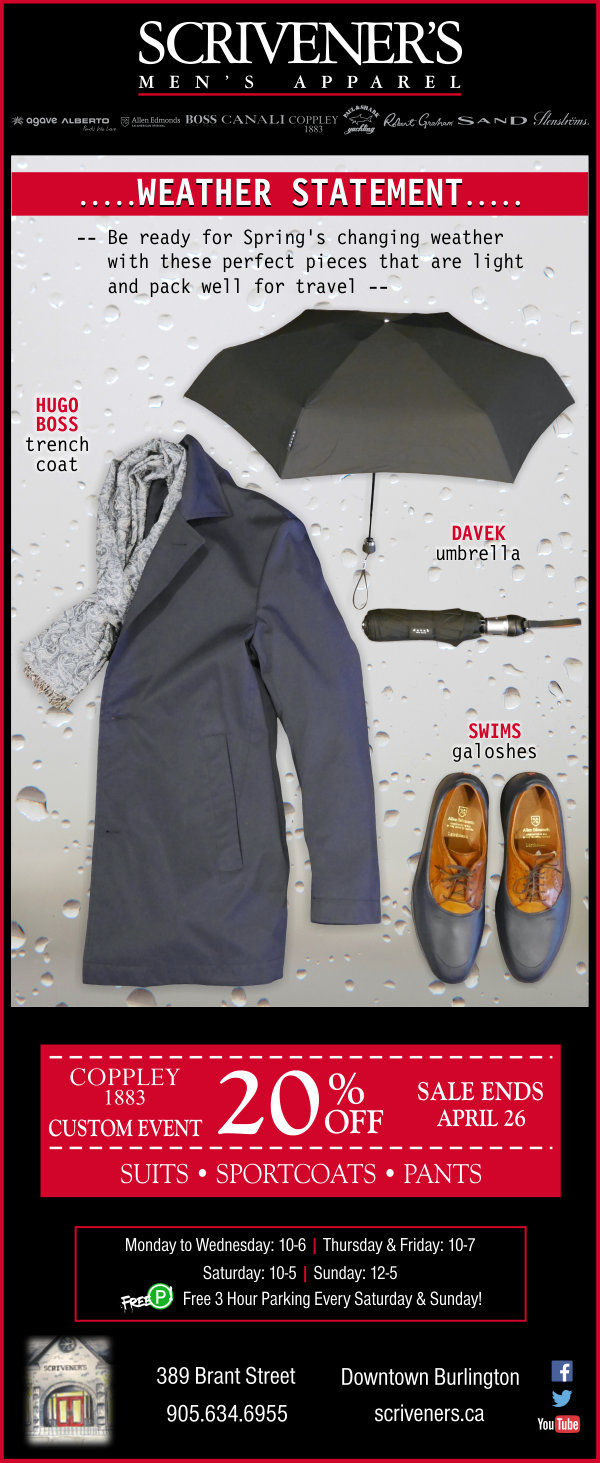 Weather Statement... 3 Must-haves from Scrivener's