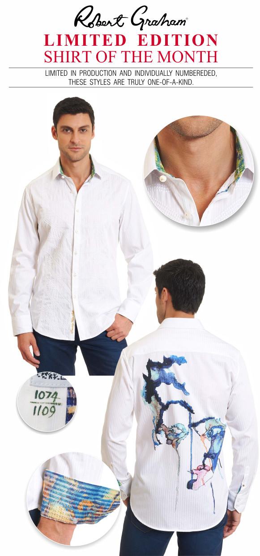 Robert Graham Conqueror Limited Edition Sport Shirt