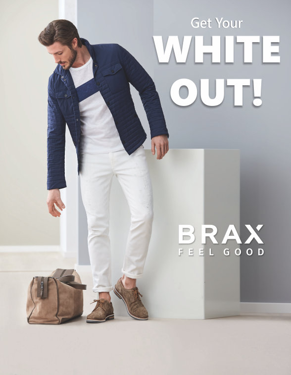 Get your White Out - Brax pants