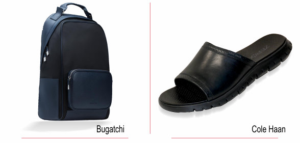 Bugatchi and Cole Haan
