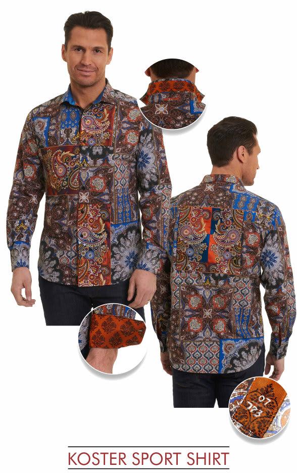 Robert Graham Koster shirt