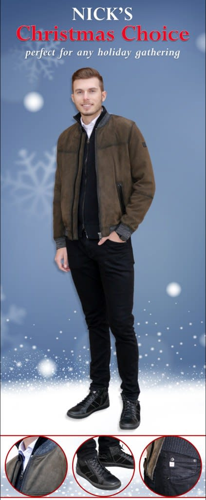 Nick's Holiday Look