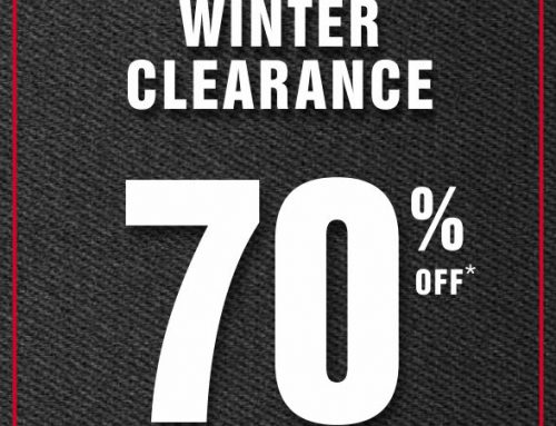 Winter Clearance Continues