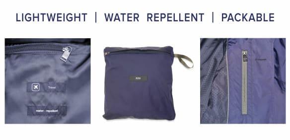 Travel jacket detail