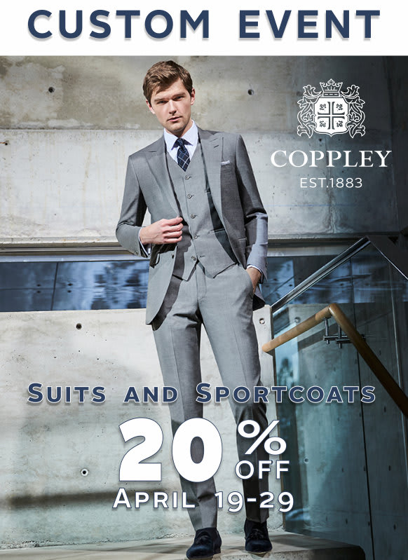 Coppley Custom Event