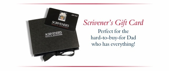 Scrivener's Gift Card - Perfect for that hard-to-buy-for Dad who has everything.
