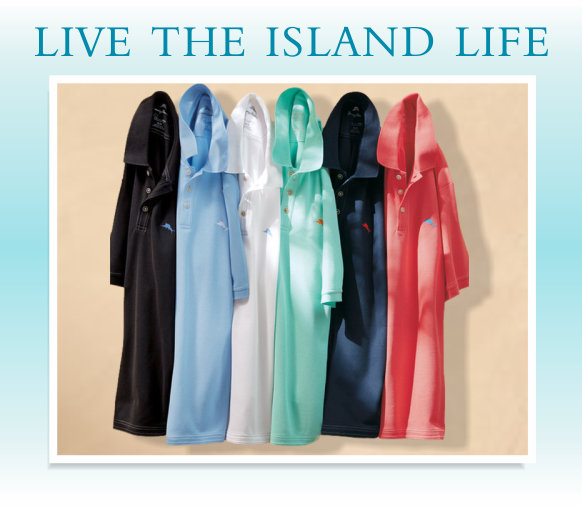 Live The Island Life - Tommy Bahama polo grouping