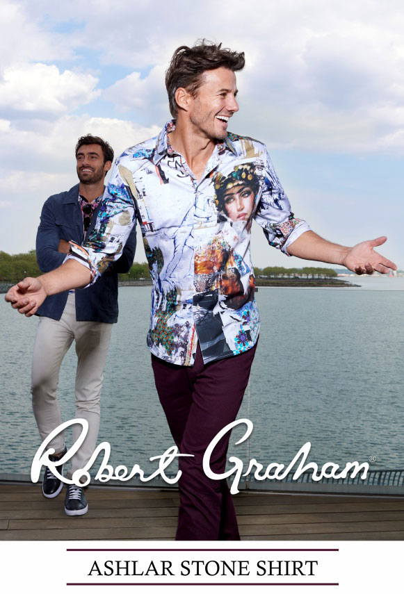 Robert Graham Ashlar Stone Shirt - Fall 2018