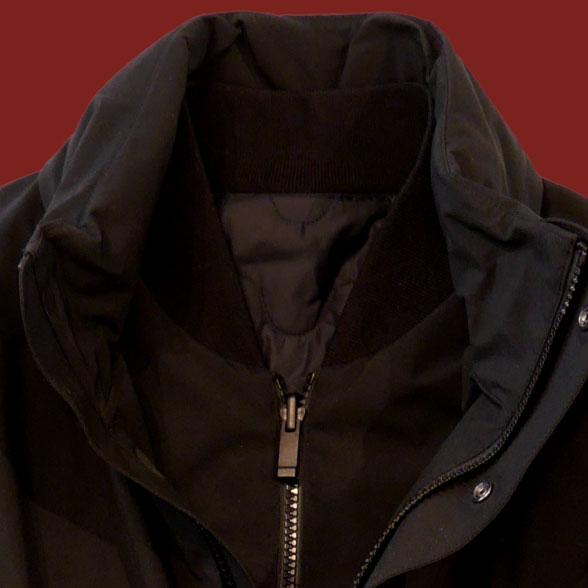Z Zegna coat detail