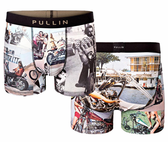 Pullin: Chopper style boxers - front and back