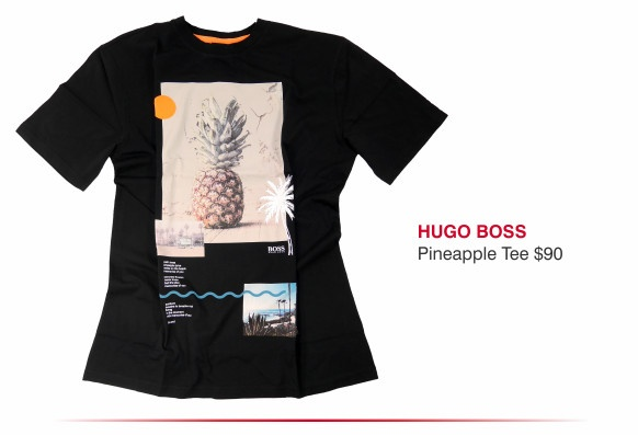 Hugo Boss pineapple tee $90