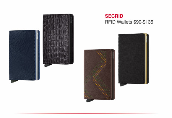 Secrid RFID wallets $90-$135
