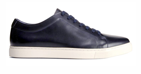 Allen Edmonds Canal Court sneaker in navy