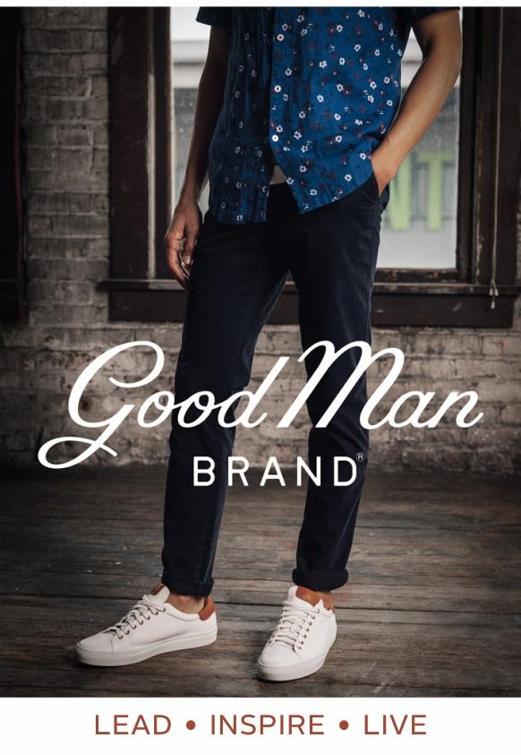 Good Man Brand-Lead. Inspire. Live.