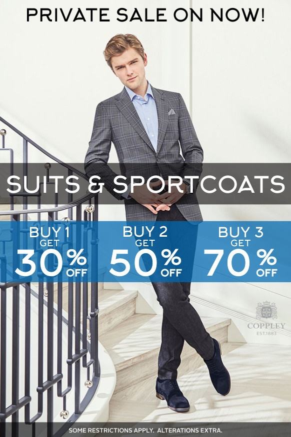 Private Sale Suits and Sportcoats