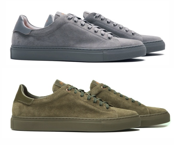 Good Man Brand Legend Lo Top sneakers - grey and military