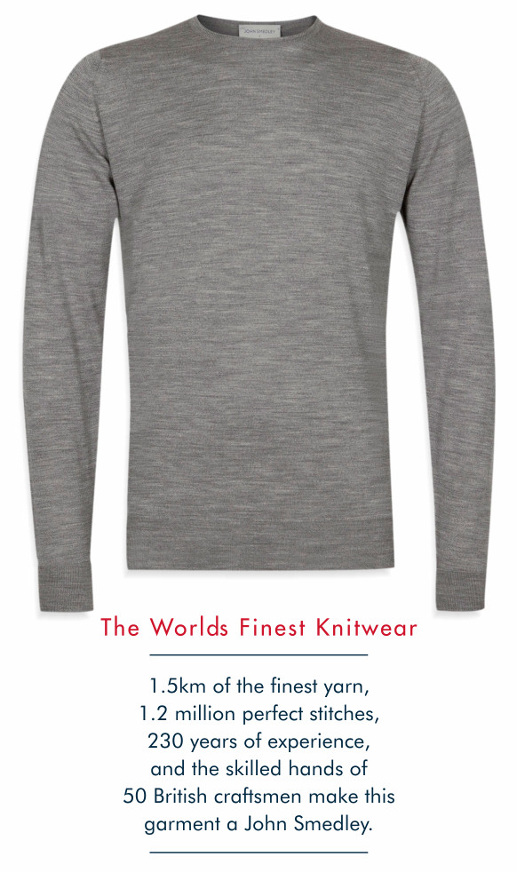 John Smedley Marcus Sweater image and manufacturing details