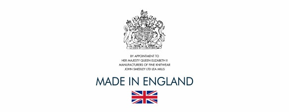 Royal appointment mark. Made in England