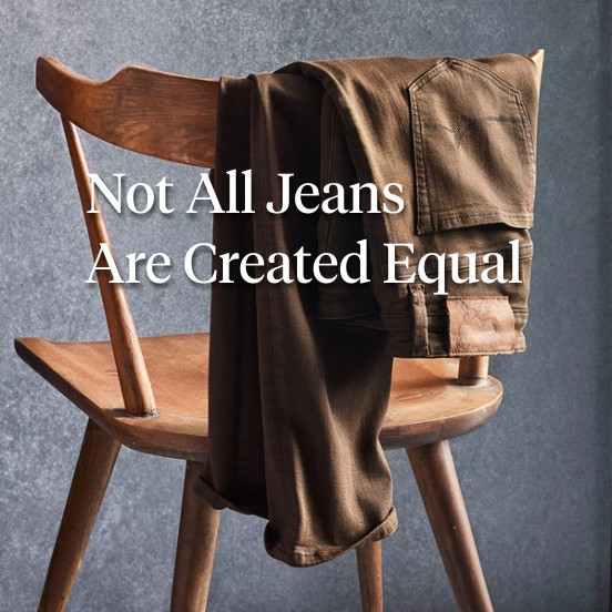 34 Heritage - Not All Jeans Are Created Equal
