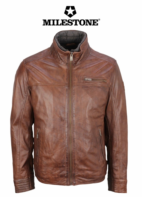 Milestone Leather Jacket - Manuel