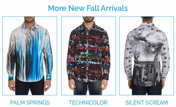 Robert Graham shirts - Palm Springs, Technicolor, and Silent Scream