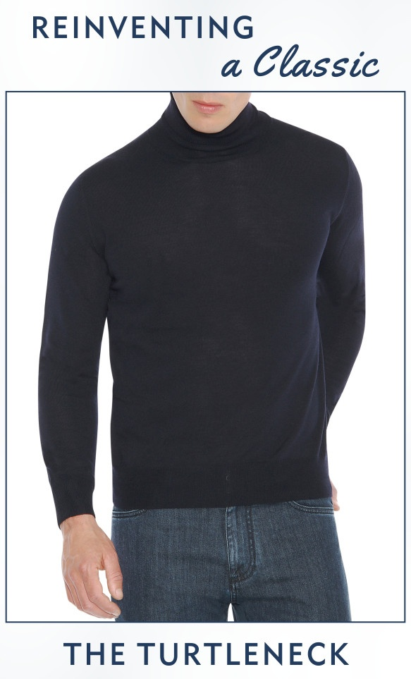 Reinventing A Classic - The Turtleneck