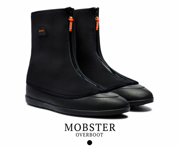 The Mobster Overboot by Swims available in black