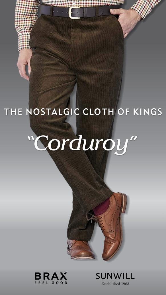 The Nostalgic Cloth of Kings - Corduroy - image of corduroy pants