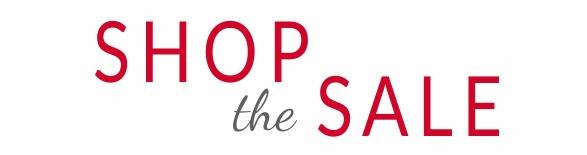 Shop The Sale header