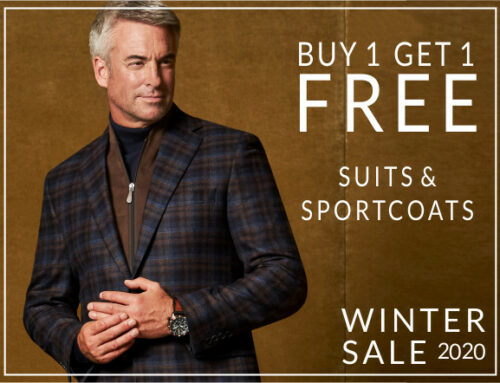 Buy 1, Get 1 Free – Suits and Sportcoats