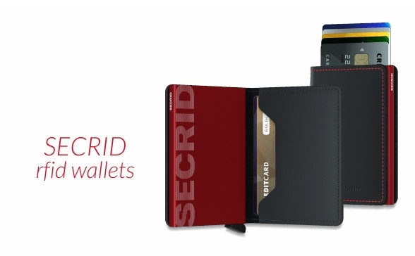 Secrid RFID wallets. Protect your cards.