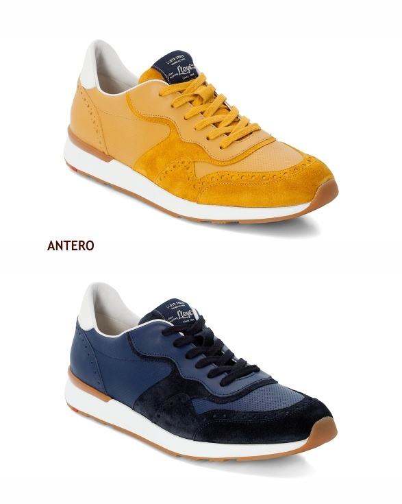 Lloyd Antero sneakers in yellow and blue