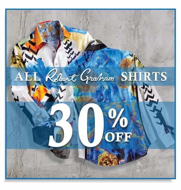Robert Graham shirts. 30 percent off
