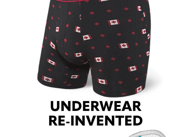 Saxx underwear re-invented