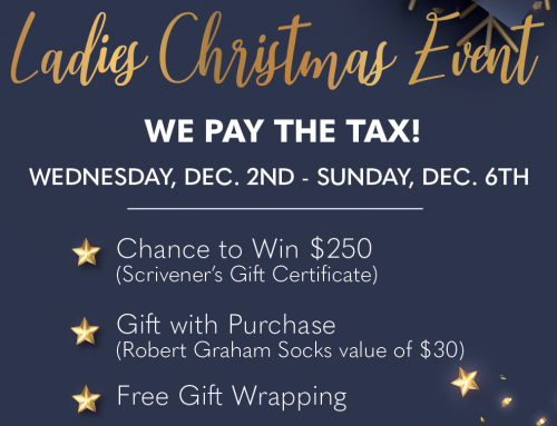 Ladies Christmas Event Dec. 2 – 6