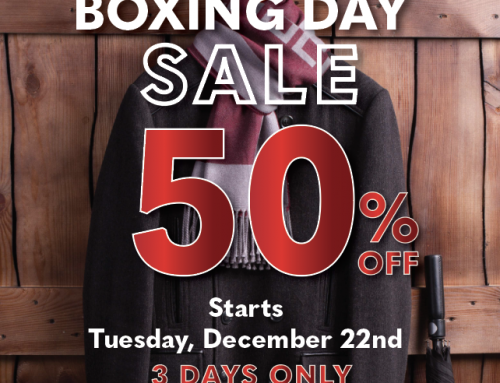 Boxing Day Sale Starts Tues. Dec. 22nd!
