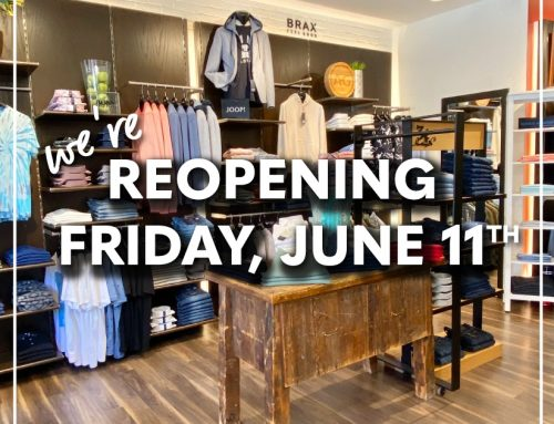 Open for In-Store Shopping June 11th